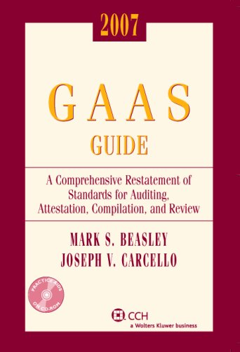 GAAS Guide, 2007 (with CD-ROM)