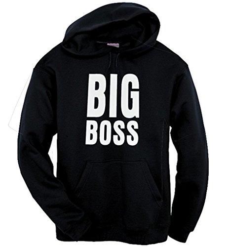 Got-Tee-Big Boss Funny Hoodie/ Sweatshirt XL Black