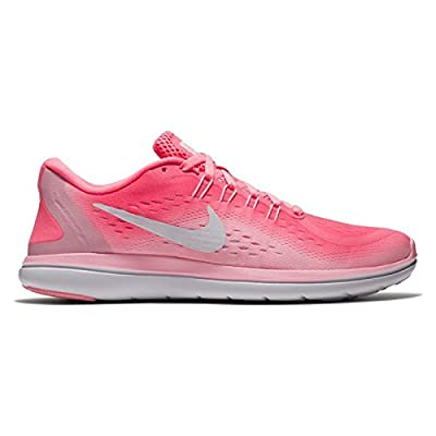 NIKE Women's WMNS Flex 2017 RN, Sunset Pulse/White-Arctic Punch, 7.5 US by NIKE