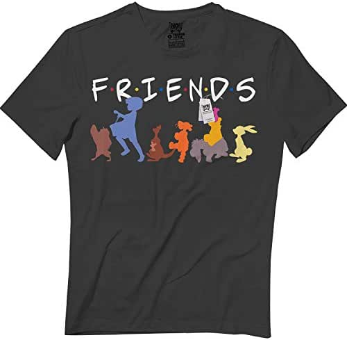 wintertee Winnie BFF Tshirts Bear Tee for Kids Men Women T Shirt