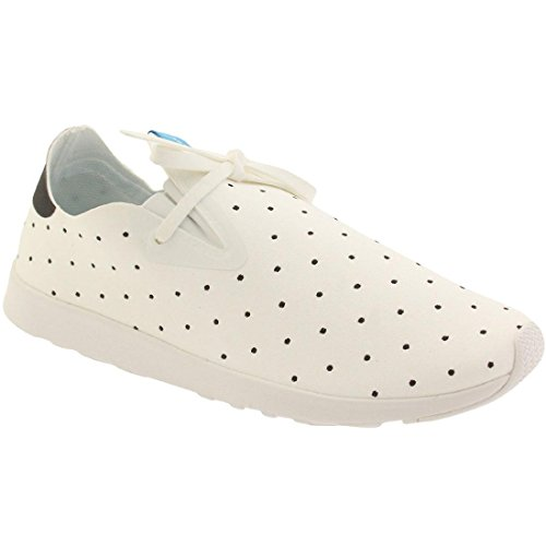 White polka Unisex Apollo Native Moc Shell Dot Sneaker Fashion White Shell 8qdwz1d