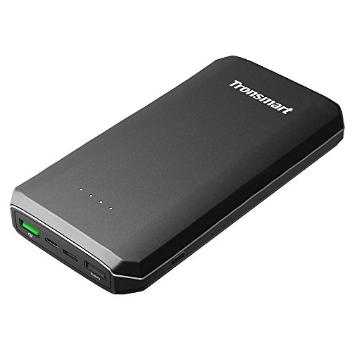 Power Bank,Tronsmart 20000 mAh Portable Charger External Battery with Quick Charge 3.0 USB Type C Port for Samsung Galaxy S8 S8+ Nexus 6p Huawei Mate 9 Google Pixel 2 XL and More