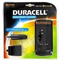 DRCH10 Duracell Camcorder Charger Charges: Duracell DR10, DR11 and JVC, Panasonic, RCA, Sanyo, Sony by Battery-Biz