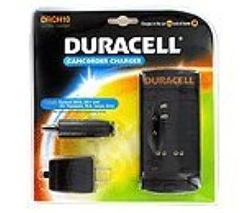 drch10 Duracell cargador videocámara: Duracell DR10, DR11 y ...