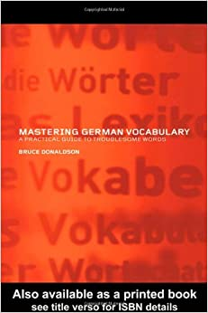 Book Mastering German Vocabulary: A Practical Guide to Troublesome Words