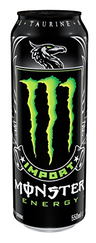 Monster Energy Import, Energy Drink, 18.6 Ounce (Pack of 12) Review