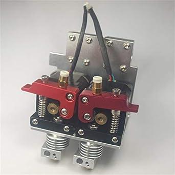 HEASEN Reprap Prusa i3 - Kit completo de extrusor de metal para ...