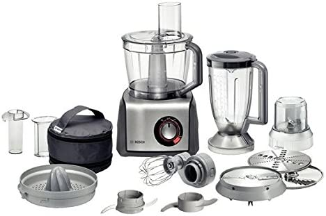 Bosch Robot de cocina mcm68861 Capacidad 3.9 l Potencia 1250 W Color Silver: Amazon.es: Hogar