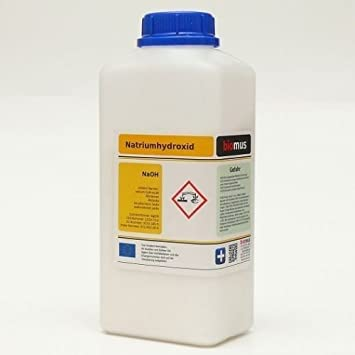 1 kg sosa 100% Hidróxido de sodio cáusticas soda microperlas de ...