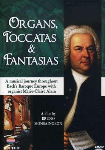 Organs, Toccatas & Fantasias / Johann Sebastian Bach, Marie-Claire - Claire Marie Alain