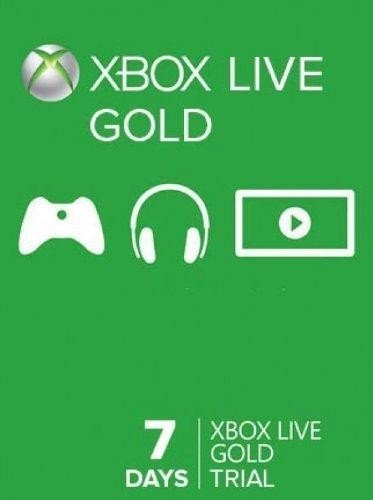 Xbox Live 7 Day Code (Accessories) (Week Xbox Live)