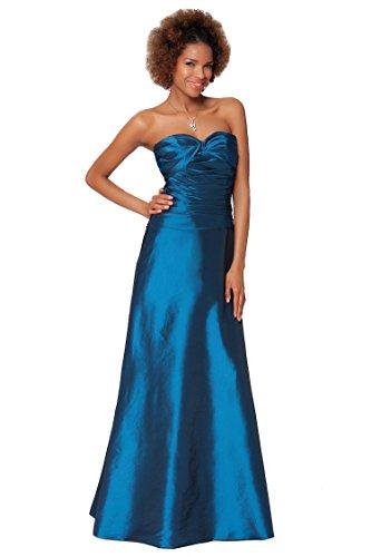 SEXYHER Gorgeous Encuadre de cuerpo entero sin tirantes de las damas de honor vestido de noche formal - EDJ1622 Azul Profundo