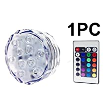 LED Light Pucks for Ultimate Frisbee, Beersbie, Kan Jam, Cornhole, Games