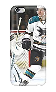 Hot Tpye San Jose Sharks Hockey Nhl (11) Case Cover For Iphone 6 Plus