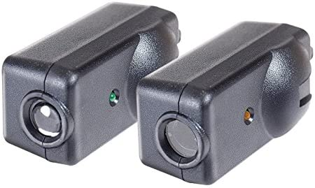 Chamberlain//LiftMaster//Craftsman Garage Door Opener Replacement Safety Sensors G801CB-P Mounting Brackets and Hardware 2 Pack Includes 2 Sensors
