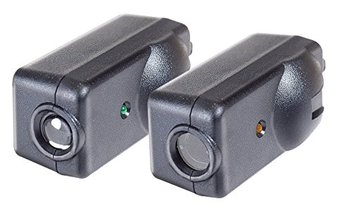 Chamberlain / LiftMaster / Craftsman Garage Door Opener Replacement Safety Sensors G801CB-P, Includes 2 Sensors, Mounting Brackets and Hardware (Beam Eye Photo)