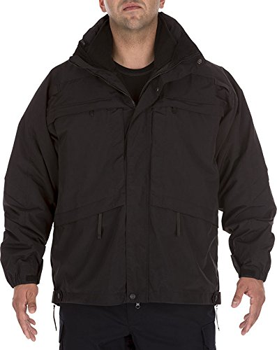 5.11 Tactical #48001 3-in-1 Parka (Black, Large) by 5.11