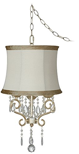conti-16-wide-mini-swag-chandelier-with-ivory-taupe-shade