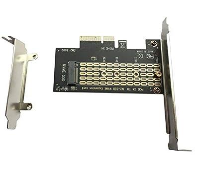 XT-XINTE High Speed PCI-E PCI Express 3.0 X4 to NVMe M.2 M Key NGFF SSD PCIE M2 Riser Card Adapter Support 2230 2242 2260 2280 M.2 SSD by XT-XINTE