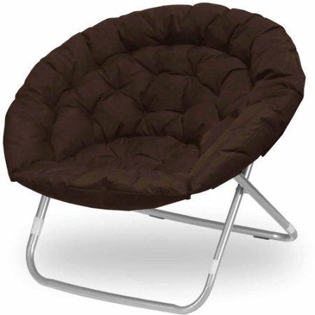 Urban Shop Oversized Saucer Chair (Dark - Oversize Shop