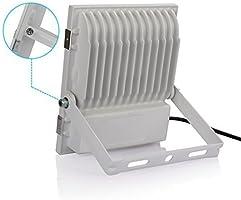 focos led exterior 50W 2700K Blanco cálido,foco proyector led IP65 ...