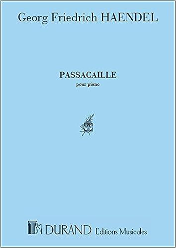 Télécharger en ligne Passacaille - Piano pdf epub
