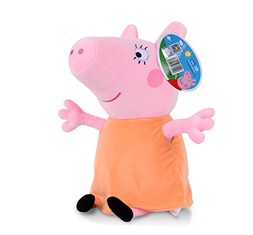 Peppa Pig Characters,Original Soft Toys:Daddy,Mummy,Peppa &George Pig Available (Mummy Pig) by Peppa Pig