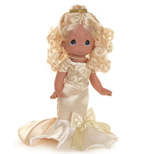 Precious Moments Dolls by The Doll Maker, Linda Rick, 25 Years of Elegance, Blonde, 12 inch doll - Precious Moments Ball