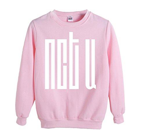 NCT U Sweatshirt All Members Mark TaeYong Taeil Ten Pullover Sweater XL Pink