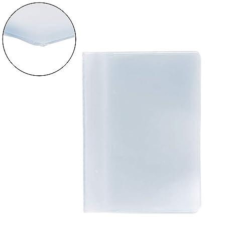 SimpleLife Plástico PVC Claro Nombre de la Bolsa ID Tarjeta ...