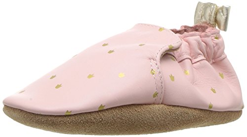 Robeez Girls Crib Shoe Prince Charming Light Pink 12-18 Months M US Infant