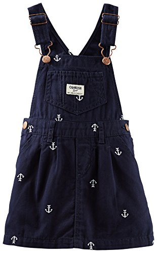 Osh Kosh Baby Girls' Anchor Twill Jumper