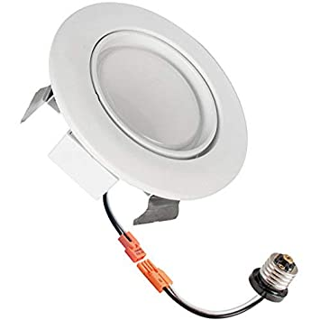4-inch LED Gimbal Recessed Retrofit Downlight, 10w, 5000k, 700 ... on wiring diagram for sprinkler system, wiring diagram for switches, wiring diagram for transformers, wiring diagram for surround sound, wiring diagram for kitchen, wiring recessed lights in series, wiring recessed lights ceiling, wiring diagram for electrical outlets, wiring diagram for chandelier, wiring recessed lights in parallel, wiring diagram for central air conditioning, wiring can lights, wiring diagram for smoke detectors, wiring diagram for gas fireplace, wiring diagram for flood lights, wiring switch to recessed lighting, wiring diagram for family room, wiring diagram for table lamps, wiring diagram for accessories, wiring multiple lights in parallel,