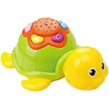 Splendidsun Colorful Starry Sky Projector, Early Education Noise Machine Story Melody Machine for Baby Or Kids, Cute Turtle/Crab/Octopus 3 Shapes Available