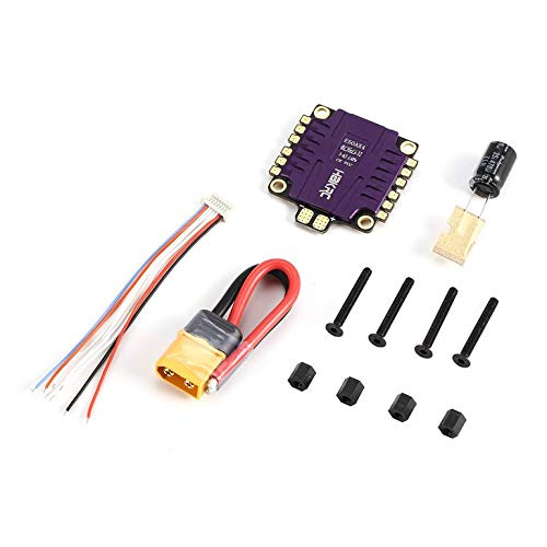 Lovelystar E50AX4 50A 3-6S BLHeli_32 5V 3A BEC PCB Dshot1200 4 in 1 ESC for RC Models Multicopter Racing Drone Frame DIY Part Accessories