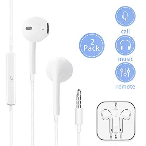 MOYAGOA [2 Pack] Earbuds Earphones