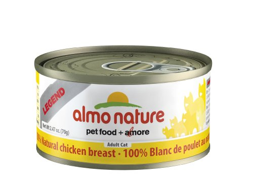 Almo Nature Chicken Breast Food (24 Cans Per Case), 2.47 oz. by Almo Nature