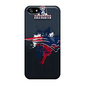 Premium New England Patriots Back Cover Snap On Case For Iphone 5/5s