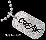 Freak - Geek Tag Necklace