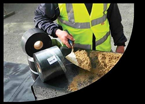 Rollo de rollo de 225 mm x 30 m a prueba de humedad DPC cumple con BS6515 CE Mark a EN 14909
