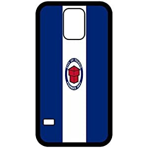 Toledo Ohio OH City State Flag Black Samsung Galaxy S5 Cell Phone Case - Cover