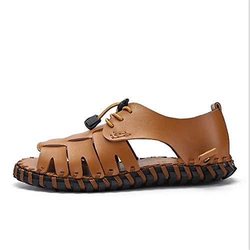 da White 5 Scarpe Traspiranti pantofole Wagsiyi Outdoor Leisure Sandali Summer Sandali 24 spiaggia Marrone Hollowed Cm 27 0 SYwxZ1
