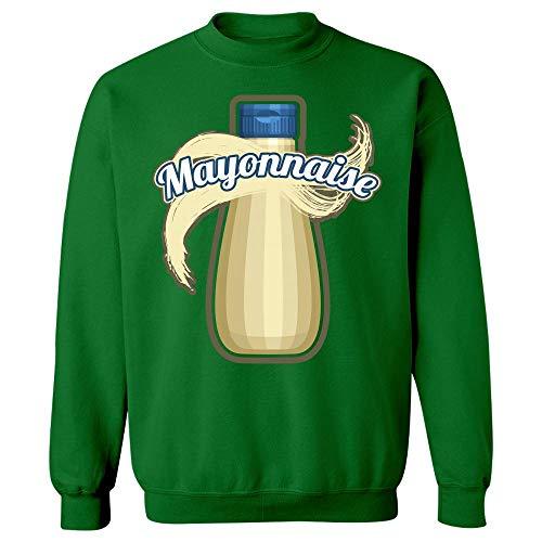 Mayonnaise Condiment Easy Trio Halloween Costume Tshirt - Sweatshirt Irish Green -