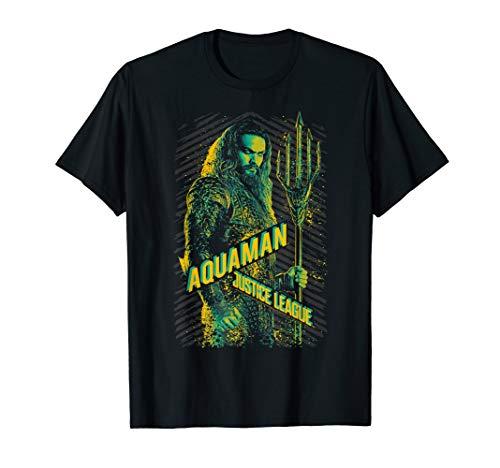 Justice League Movie Aquaman T Shirt from DC Comics