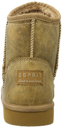 ESPRIT Damen Uma Vintage Schlupfstiefel Braun (Rust Brown)