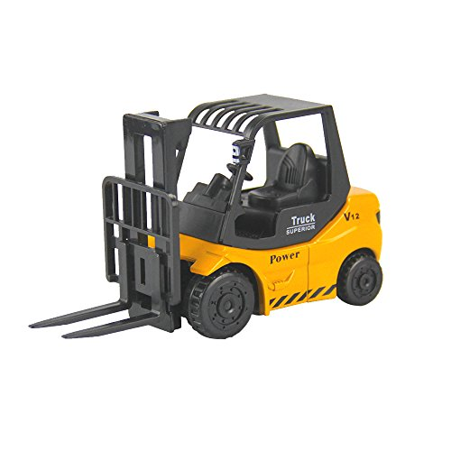Construction Vehicles Mini Engineering Vehicles Alloy Material Forklift Truck Model Toy