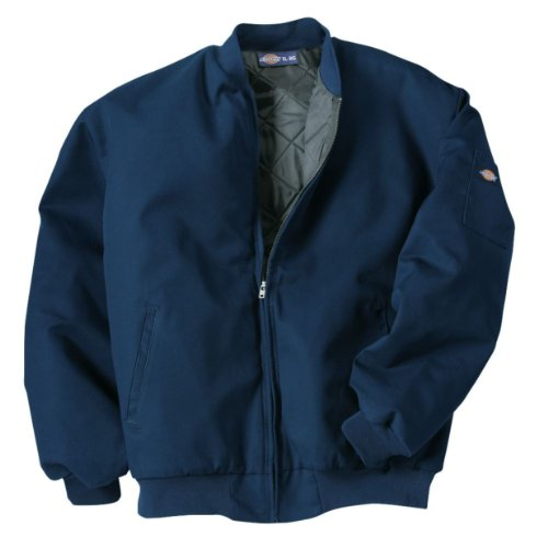 Dickies Occupational Workwear JTC2DN 2XL Polyester/Cotton Insulated Team Jacket with Slash Front Pockets, 2X-Large, Dark - Jacket Dickies Work