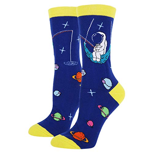 Women's Novelty Funny Cool Space Crew So...