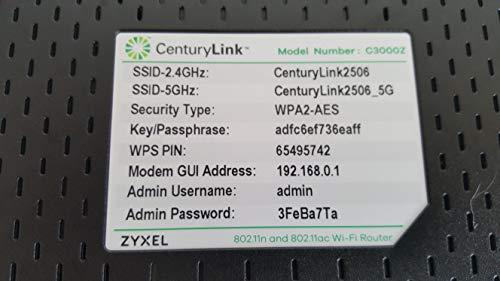 ZyXEL C3000Z Modem