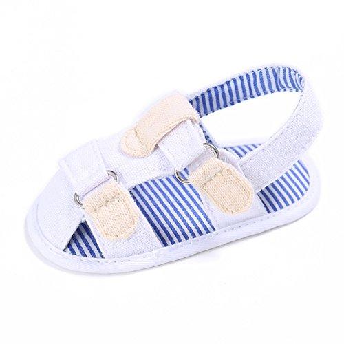 Sandalias De Bebe,BOBORA Prewalker Zapatos Primeros Pasos Para Bebe Jeans Transpirables Bebe Suave Fondo Sandalias A3